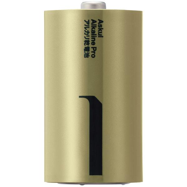 アルカリ乾電池PRO 単1形 2本