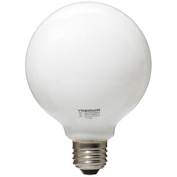 ボール電球 白 100W形 GW100V90W95 ヤザワコーポレーション