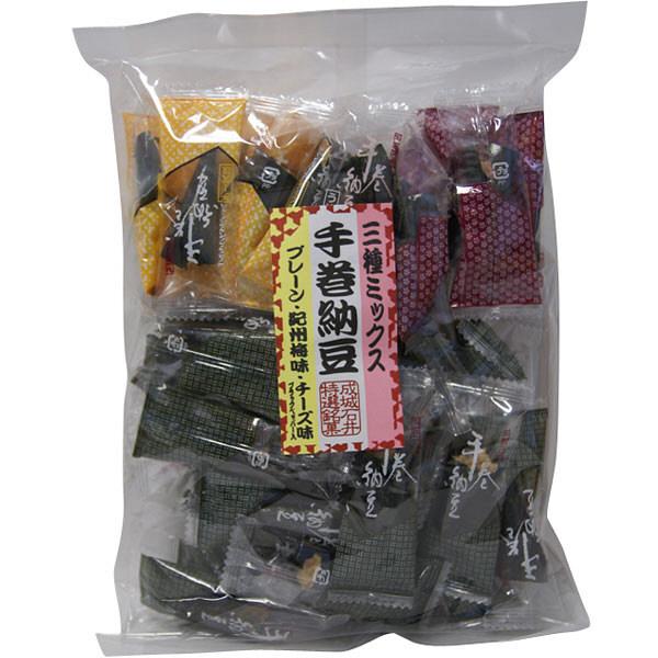 成城石井 手巻納豆三種ミックス 170g