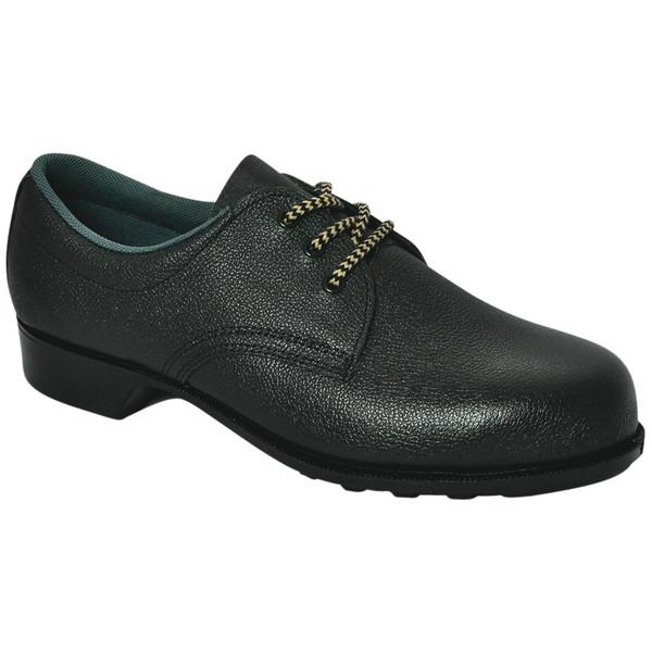 ミドリ安全 耐油 安全靴 短靴 HV10 ブラック 25.0cm(3E) 10000409 1足