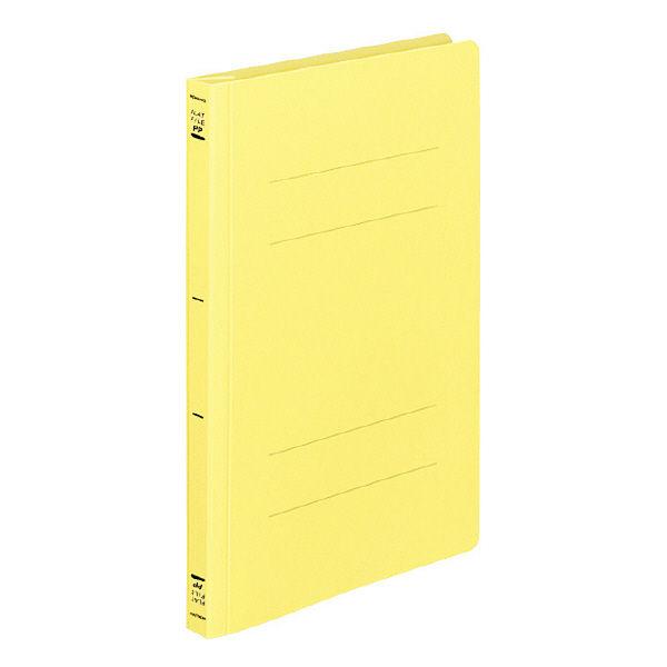 フラットファイルPP製 B5縦 黄10冊