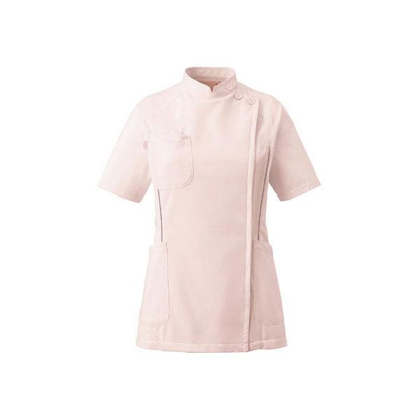 ミズノ ユナイト ケーシージャケット(女性用) ピンク S MZ0048 医療白衣 ナースジャケット 1枚 (取寄品)