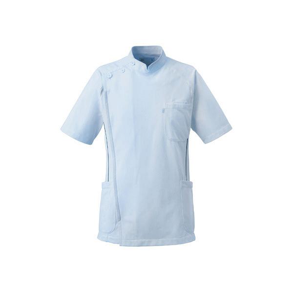ミズノ ユナイト ケーシージャケット(男性用) サックス 3L MZ0049 医療白衣 1枚 (取寄品)