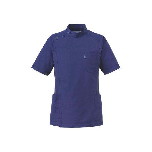 ミズノ ユナイト ケーシージャケット(男性用) ネイビー L MZ-0049 医療白衣 1枚 (取寄品)