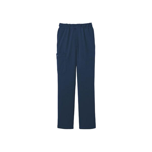 ミズノ ユナイト ニットスクラブパンツ(男女兼用) ネイビー L MZ0085 医療白衣 1枚 (取寄品)
