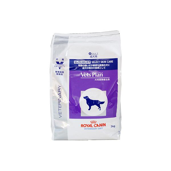 ロイヤルカナン犬セレクトスキンケア3kg