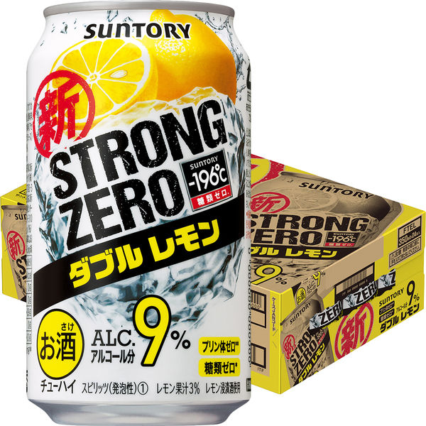 ストロングゼロ Wレモン350ml 24