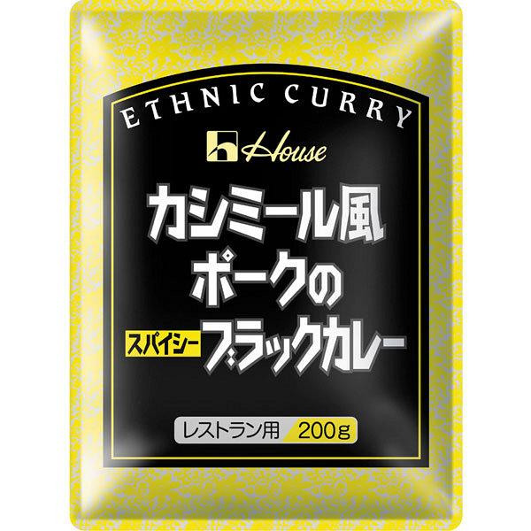 ハウス食品 カシミール風ポークのスパイシーブラックカレー 1袋