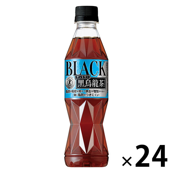 LOHACO - 【トクホ・特保】サントリー 黒烏龍茶 350ml 1箱(24本入)