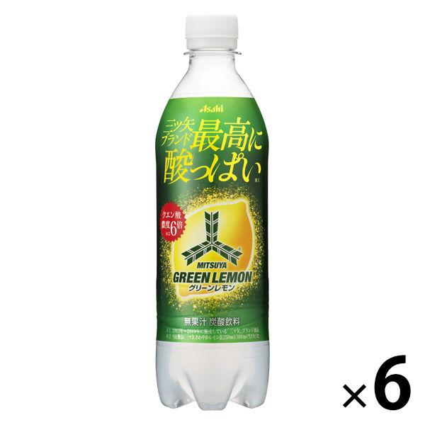 三ツ矢グリーンレモン 500ml 6本