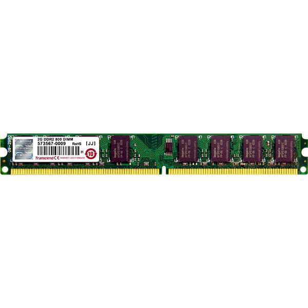トランセンド DDR2 2GB デスクトップ用増設メモリ TS256MLQ64V8U 1個