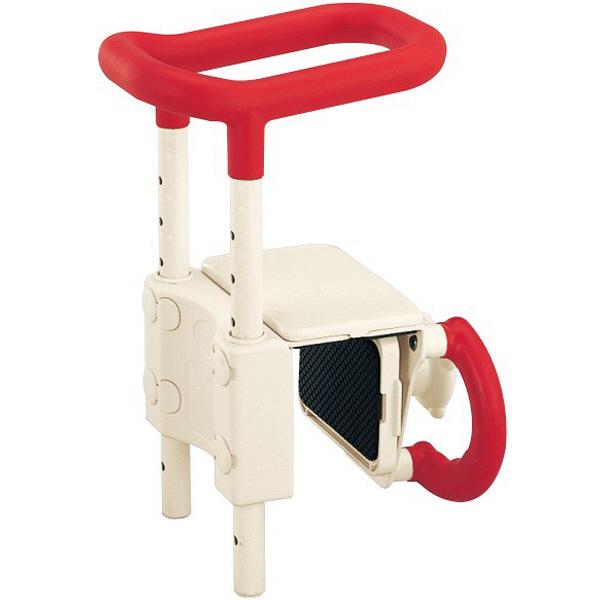 アロン化成 高さ調節付浴槽手すりUST-130 536600 1台 (取寄品)