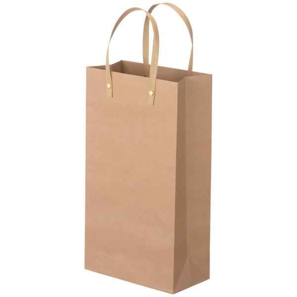 手提げ紙袋 ワインバッグ 平紐 2本用