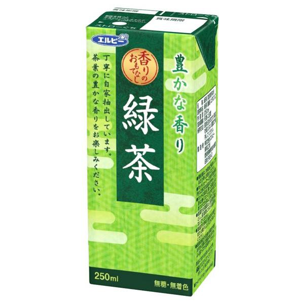 豊かな香り緑茶 250ml 24本