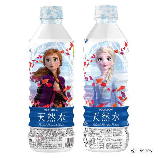アナと雪の女王 天然水 500ml 6本