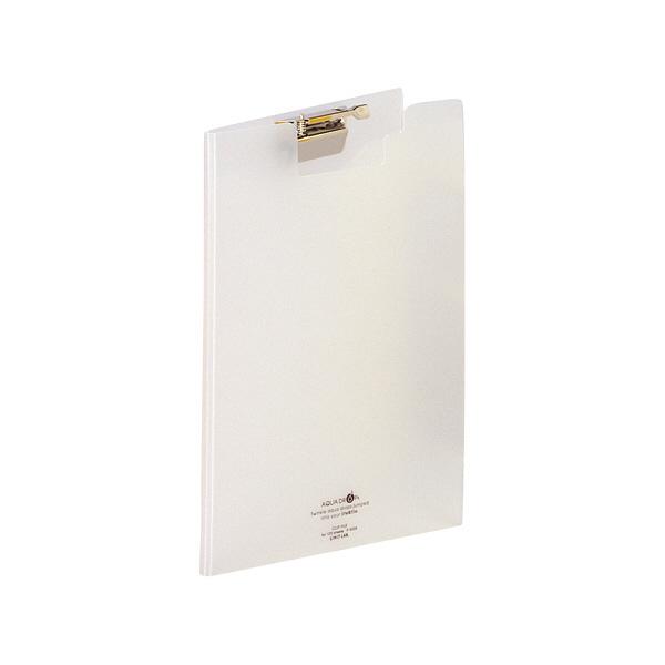 リヒトラブ クリップファイル 乳白 F5035-1 1袋(3冊入) (直送品)