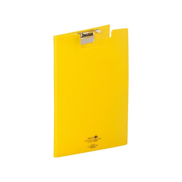 リヒトラブ クリップファイル 黄 F5035-5 1袋(3冊入) (直送品)