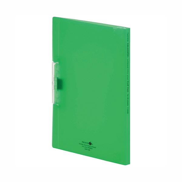 リヒトラブ クリップファイル 黄緑 F-5036-6 1袋(3冊入) (直送品)
