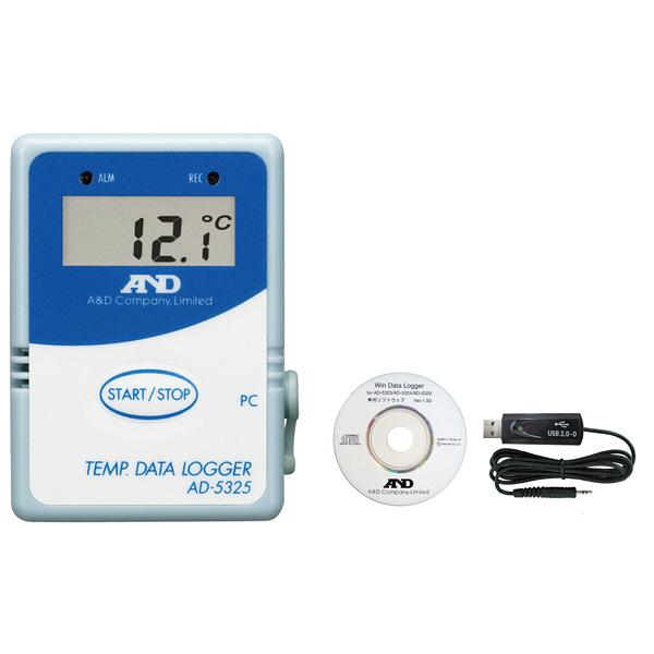 温度データロガー(通信セット付)