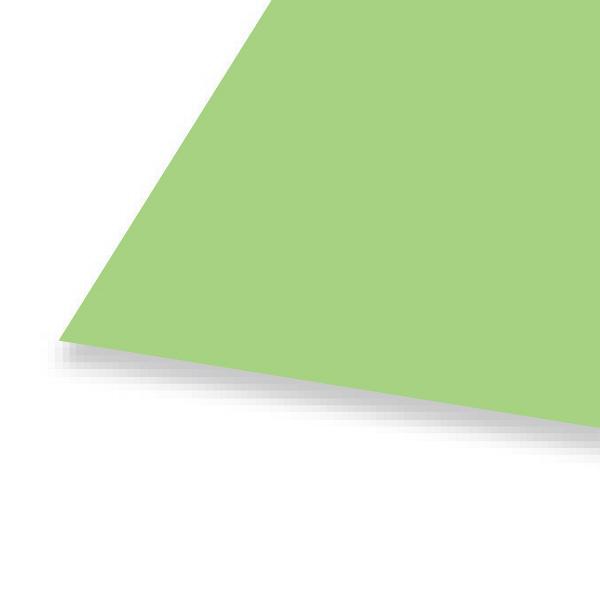 大王製紙 色画用紙 八切 わかくさ B-35 1セット(50枚:10枚入×5)