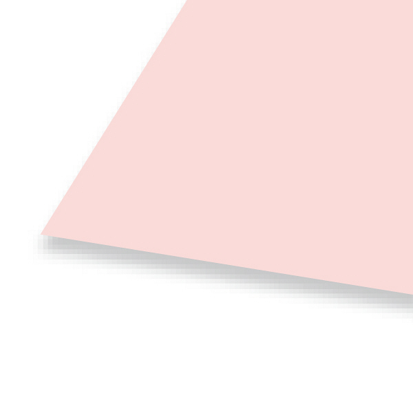 大王製紙 色画用紙 八切 うすもも A-15 1セット(50枚:10枚入×5)
