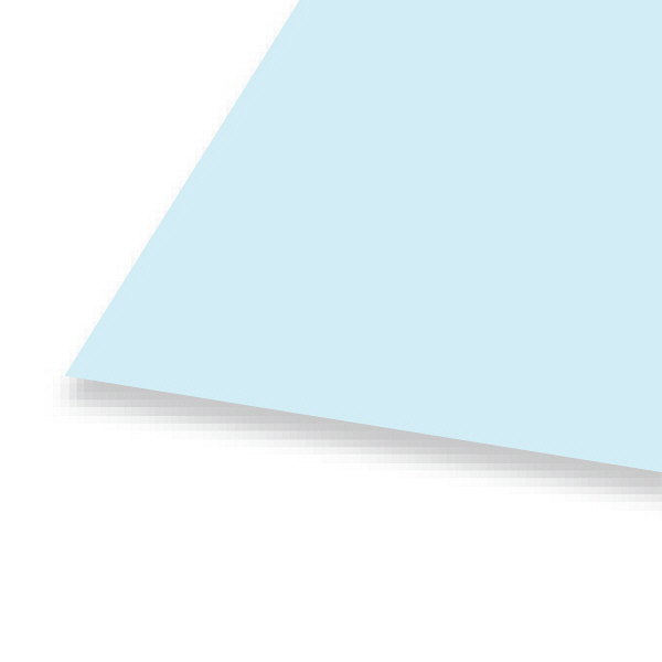 大王製紙 色画用紙 四切 うすみず A-28 1セット(50枚:10枚入×5)