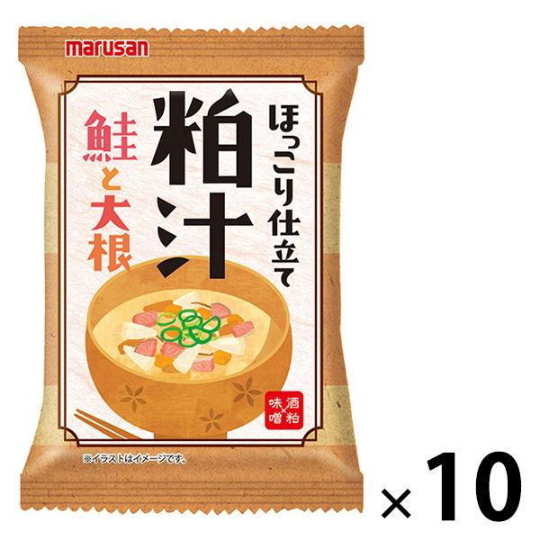マルサン 粕汁 鮭と大根 10食