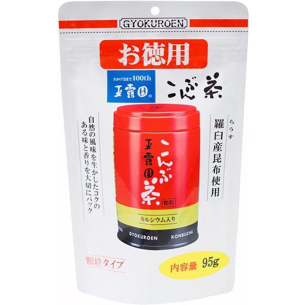 こんぶ茶スタンドパック お徳用 95g
