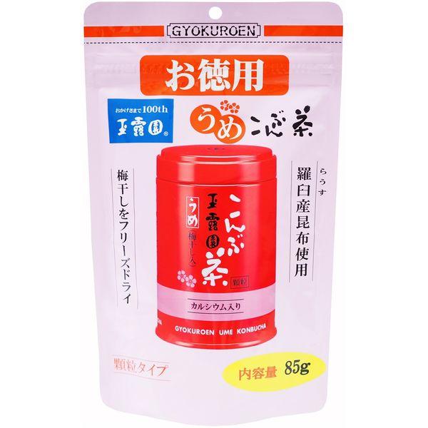 梅こんぶ茶スタンドパック お徳用 85g