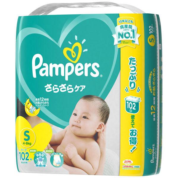 パンパース テープ S 102枚