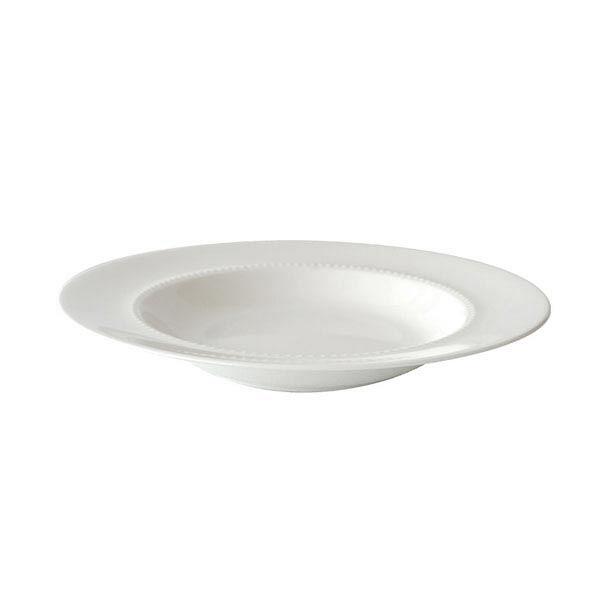 NIKKO 24cmリムスープ皿 ボーンチャイナ 1箱(6枚入)16200-1224A (取寄品)