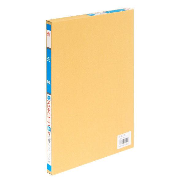 アピカ 帳簿リーフ B5 元帳 リフ301 1セット(300枚:100枚入×3冊)