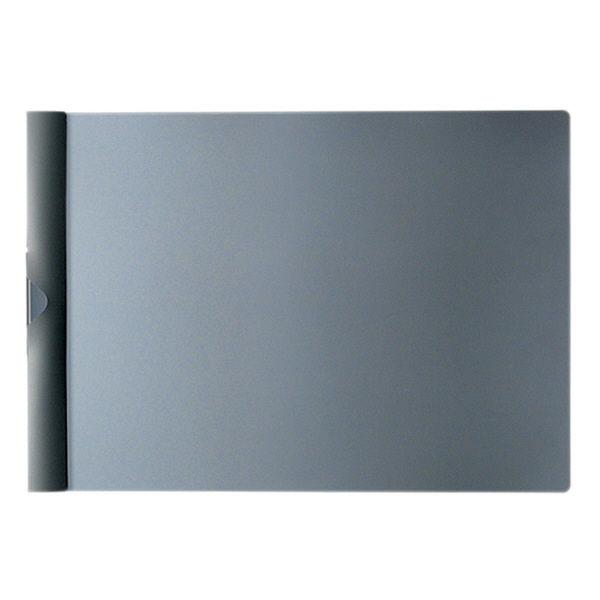 プラス スライドクリップファイル 濃灰 FS-142PH DGY 1袋(3冊入) (直送品)