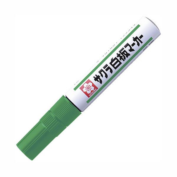 サクラクレパス ホワイトボードマーカー 中字 緑 WBK#29 1セット(3本入) (直送品)