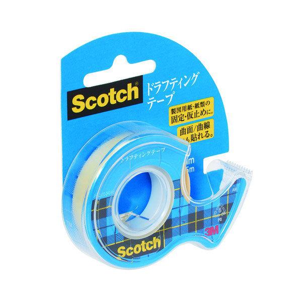 スコッチ(R)ドラフティングテープ D-12 幅12mm×5m 3個 (直送品)