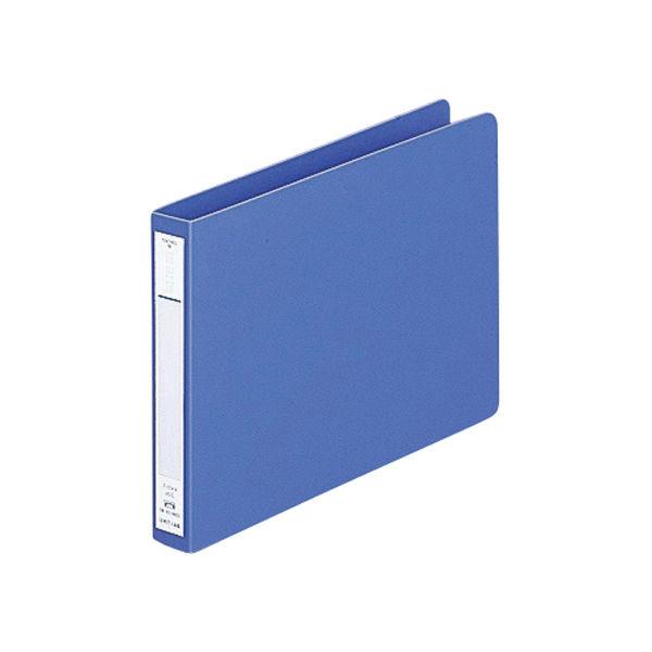 パンチレスファイル A5ヨコ 3冊 リヒトラブ HEAVY DUTY 藍 F-374-9(直送品)