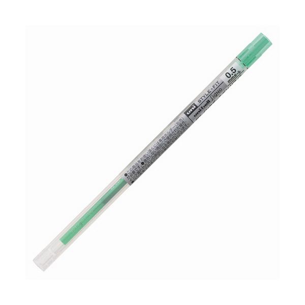 三菱鉛筆(uni) スタイルフィットリフィル芯 シグノインク 0.5mm 緑 UMR-109-05 3本 (直送品)
