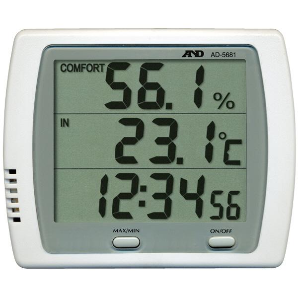 AD-568 A&D デジタル温湿度計