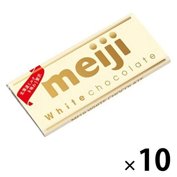 明治 ホワイトチョコレート10枚