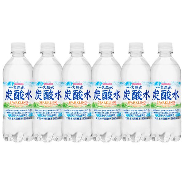 伊賀の天然水炭酸水 500ml 6本