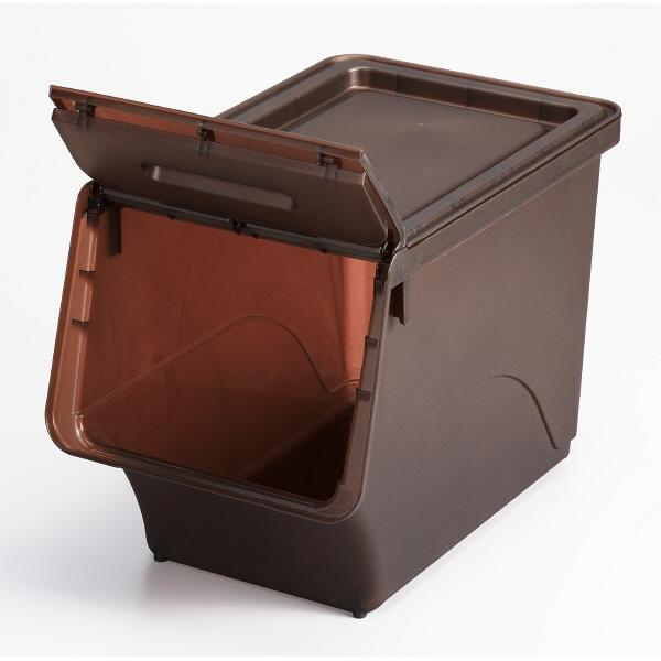 オープンBOX スリムMスモークブラウン