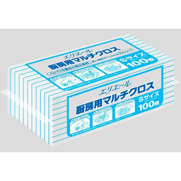 大王製紙 厨房用マルチクロス Sサイズ 703308 1パック(100枚入)