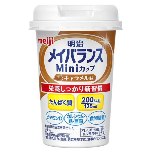 明治 メイバランスMiniカップ キャラメル味 1本