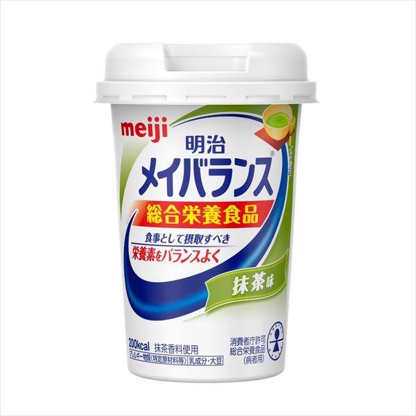 明治 メイバランスMiniカップ 抹茶味 1本