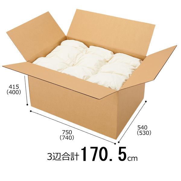 【底面B2】 無地ダンボール箱 B2×高さ415mm 1梱包(5枚入)