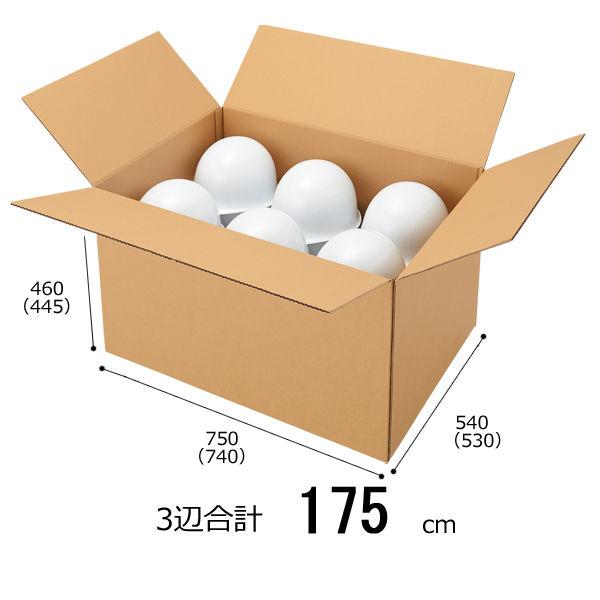 【底面B2】 無地ダンボール箱 B2×高さ460mm 1梱包(5枚入)