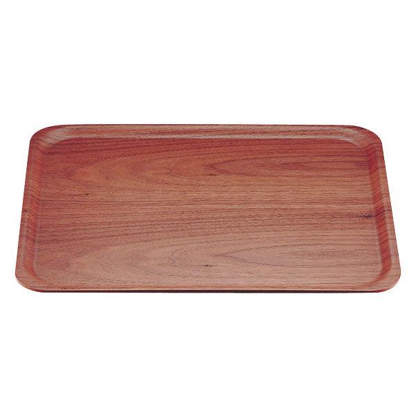 木製トレー長角(ウォールナット) 1004WN (大) PTL8401 TKG サイトーウッド (取寄品)