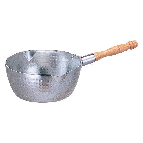 ホクア アルミ打出雪平鍋15cm