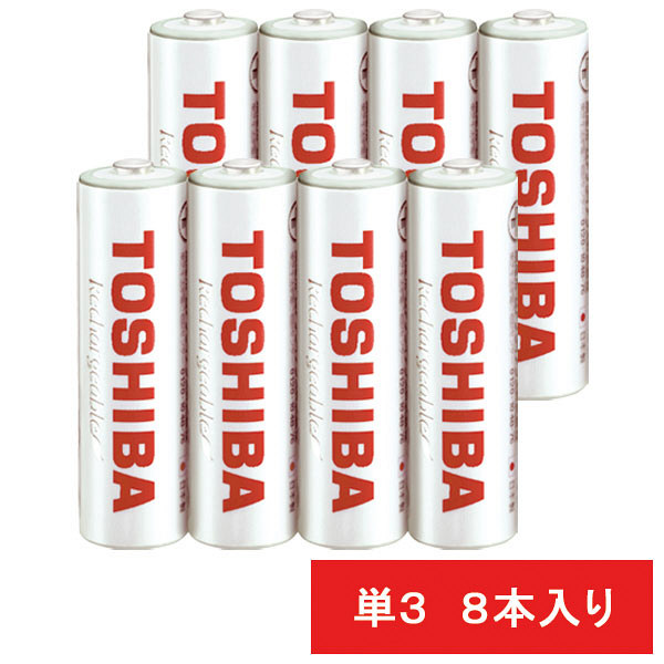 東芝 ニッケル水素電池 TNH-3WB4P 1セット(4本入×2パック)