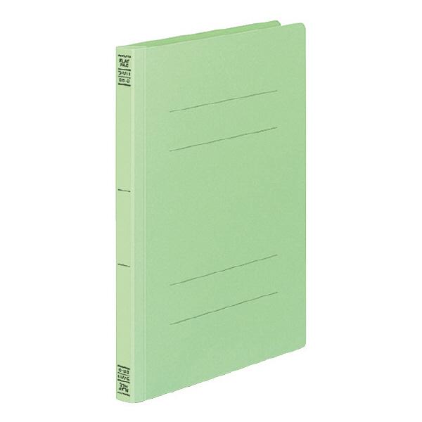 フラットファイルV B5タテ 緑 10冊